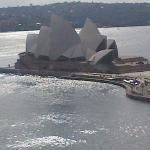View from Four Seasons Hotel Sydney April 2015