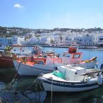 Boats in Mykonos