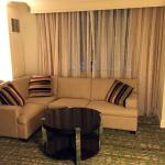 Sitting area in room 822