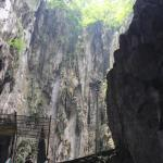 The cave from inside