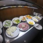 Cheeses and cold meats