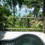 plunge pool suite - photo doesn't do it justice!