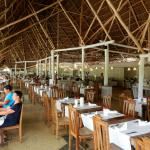The All inclusive restaurant, amazing food