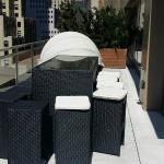 suite, outdoor table