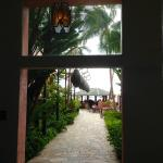 Walkway to the Mai Tai Bar