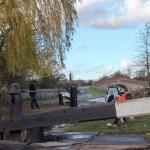 A good walk to the lock