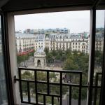 View from our room at Citadines Les Halles, Paris
