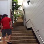 The dreaded stairs