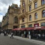 Located in old town of Prague, with comfortable room. Nice reception staff as well as conciege s