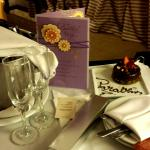 My bday surprise thanks to our SPG Concierge