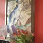 One of the pictures in the Red Room