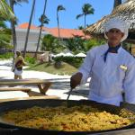Paella on the beach!