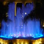 The Fountain Light Show that took place every night at 21:00, 22:00 and 23:00 in the main resort