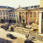 View of the Ashmolean museum from the room