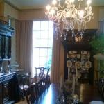 the dining room during the day