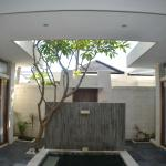 lounge area/plunge pool with a wide lens. 2bdrm villa