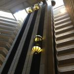 Elevator in the lobby
