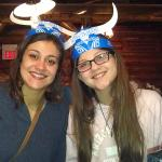 Amanda and Deleah Sanchez from Oak Forest, IL LOVED Paul Bunyan's!