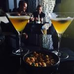 Passion martinis in the vault bar/restaurant on the 71st floor.