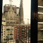 Room with Sagrada Familia view