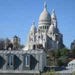 View of the Sacre-Coeur from my room