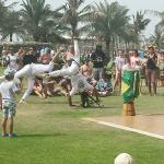 capoeira at easter carnival