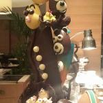Chocolate easter display
