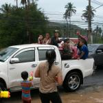 Songkran festivities at beach Republic