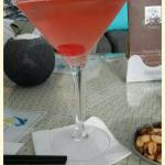 Pearly grey cocktails
