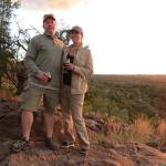 Sunset drink on a Game Drive