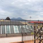 View of Vesuvius from room 607 terrace