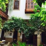 A view of the communal area of the Riad