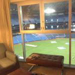Room with view in stadium