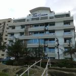 Viewed from the beach, Hotel Sea Crown, Cox's Bazar