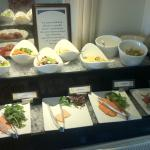 Excellent quality buffet ingredients - clean and well displayed