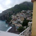 Positano viewed from our balcony