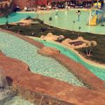 One of the child's waterparks