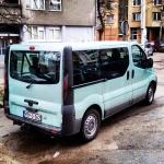 Van Opel Vivaro 8+1 for transfers from the airport and opposite :)