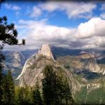 The view from Washburn Point / Glacier Point (right above Camp Curry)