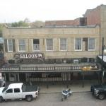 View of the White Elephant saloon from our room