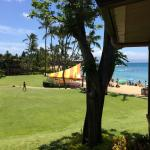 View from Honolua room towards beach