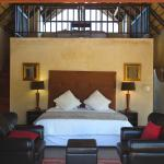 Family suite has a loft with 2 single beds