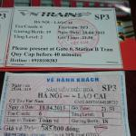 Comparison of tickets and real price to Sapa in a soft sleeper