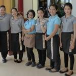 some of the restaurant staff