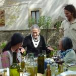 Lazy and rustic lunch under the Tuscan sun