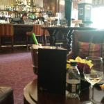Old world charm in the bar