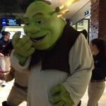 Shrek appeared when i was shopping in there