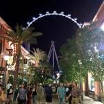 The Linq promenade is a superb space