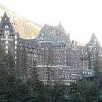 The view as you approach the hotel. Can you say, Hogwarts?
