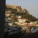 view of the Acropolis from room 326